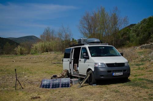 Vanlife in Südfrankreich