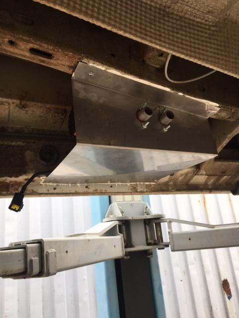 Unterflurmontage T5 Luftzusatzheizung