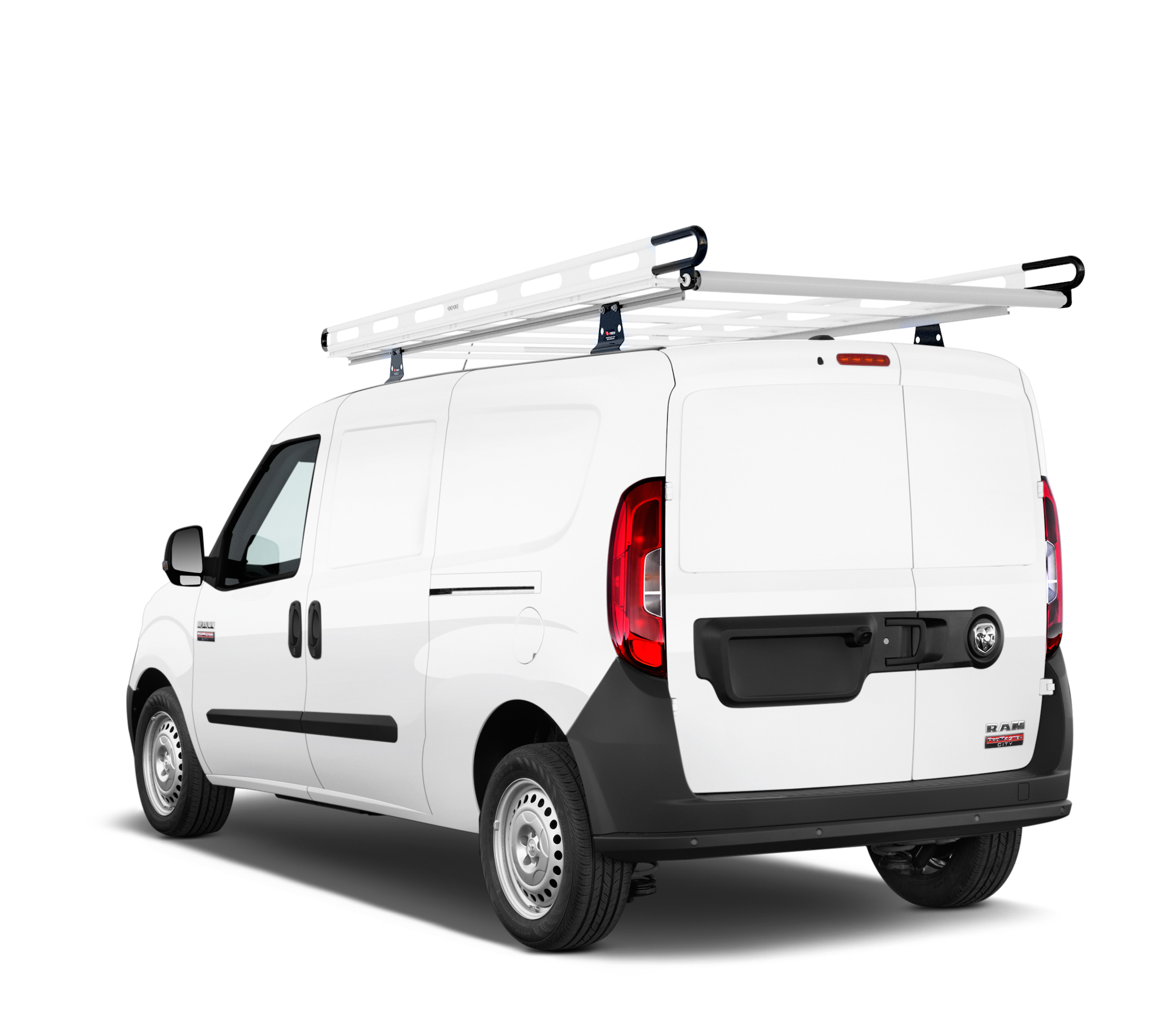 h2 ladder roof rack for ram promaster city 2014 on