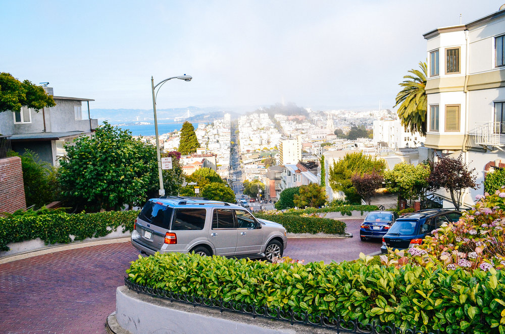 A day in San Francisco