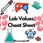 Lab Values Cheat Sheet