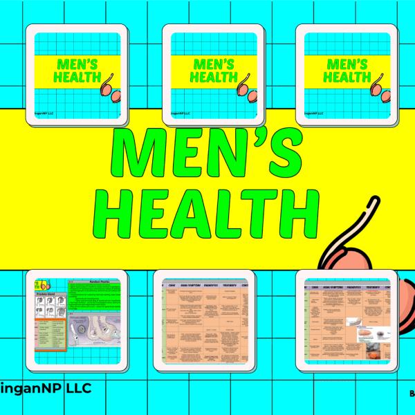 Mens Health Cover