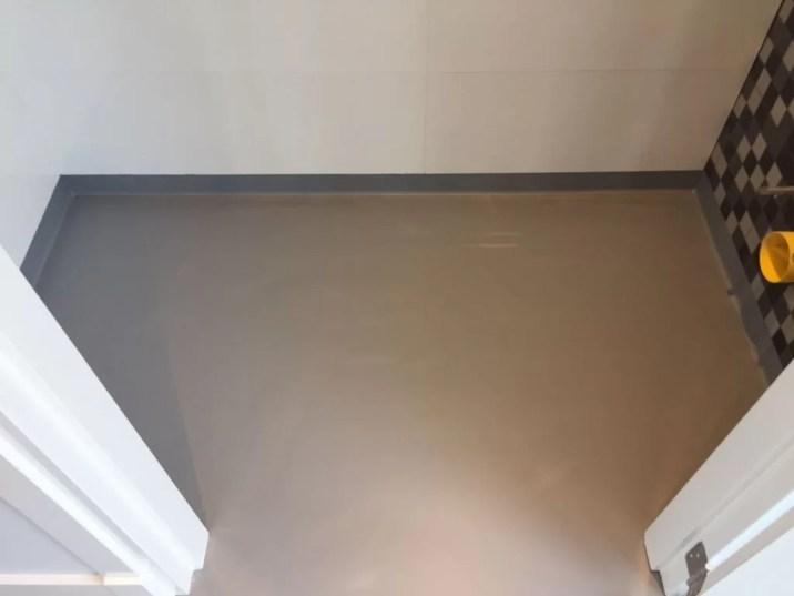 PU betonlook bovenverdieping Berghem-Van Tol Vloeren Uden