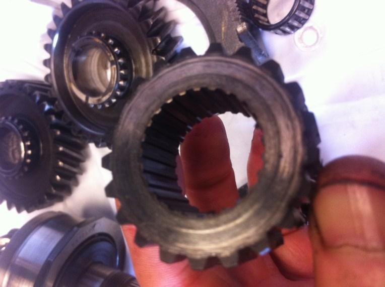 vw t3 syncro gearbox R/G synchroniser hub 2
