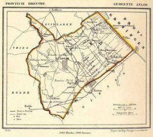 1024px Netherlands Anloo map of 1866 300x268 - Geschiedenis