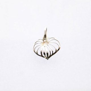 KAVA LEAF MINI STERLING SILVER PENDANT