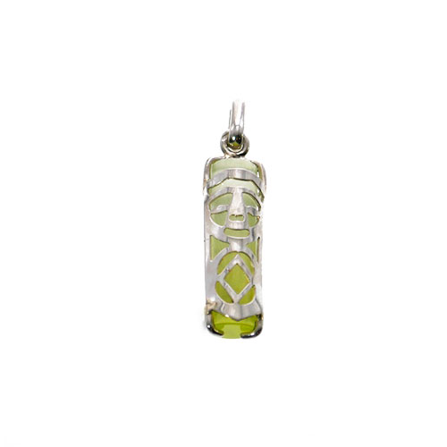 TALE CYLINDER ON SPS PENDANT STERLING SILVER