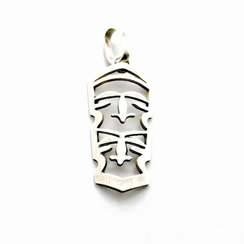TAMTAM TWO FACE MINI STERLING SILVER