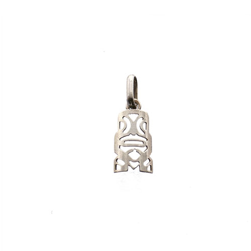 TIKI MINI PENDANT STERLING SILVER