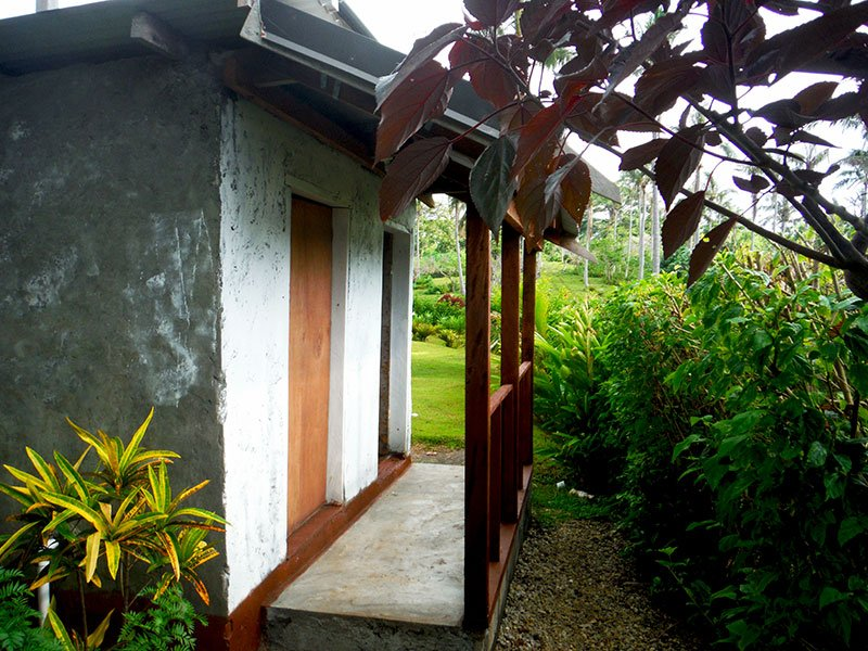 The shared bathroom amenities have separate shower and WC rooms, with the shower provided with hot water shower