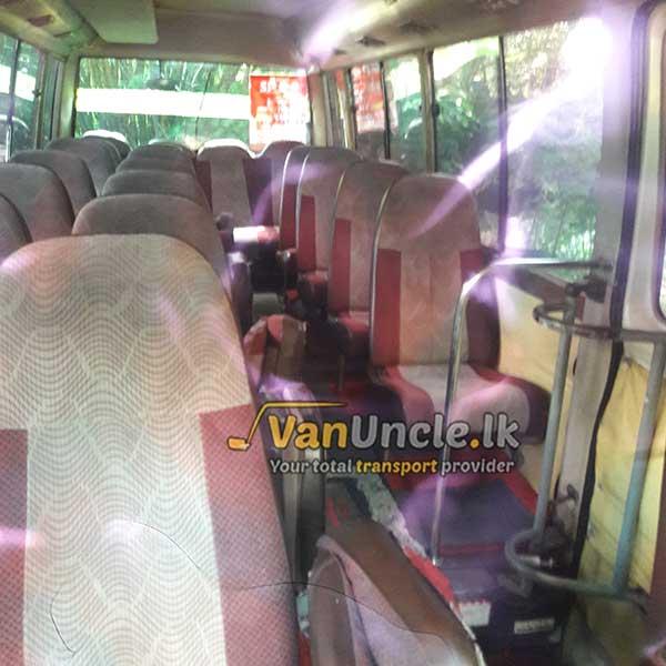 Staff Office Transport Service from Udupila to Narahenpita