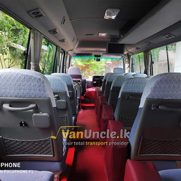 Staff Office Transport Service from Morontuduwa to Dematagoda