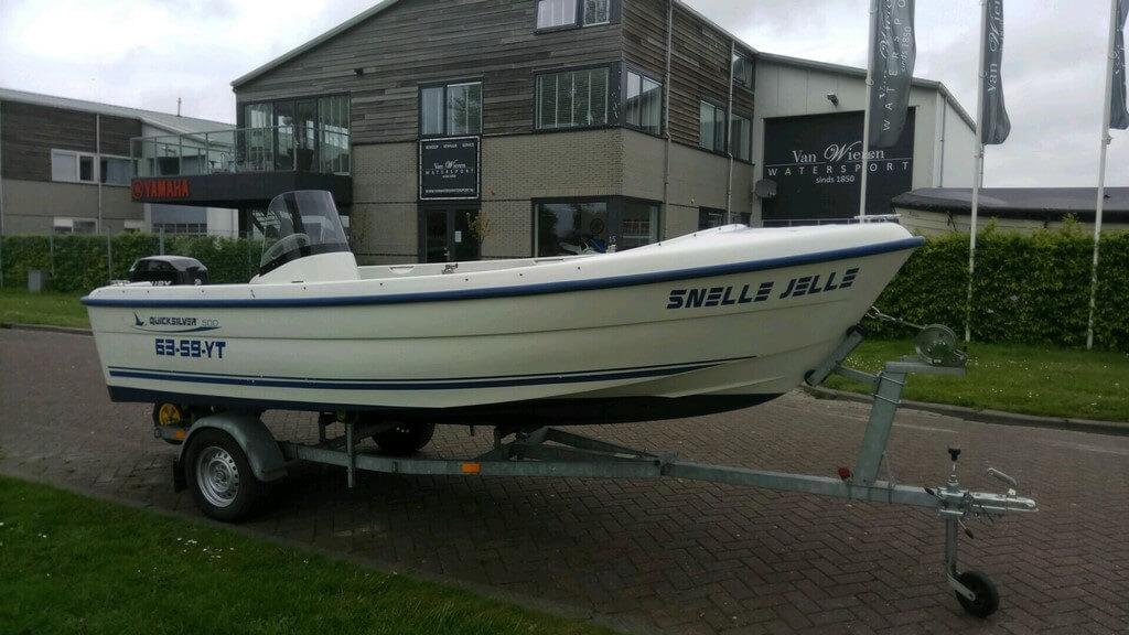 Quicksilver 500 fish  Van Wieren Watersport