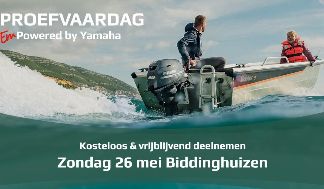 Yamaha Marine Proefvaardag