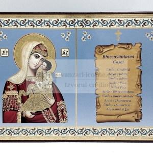 Icoana Maicii Domnului Imparateasa cu binecuvantarea casei