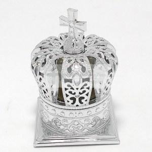 Mitra argintie cu sticla Mir Floarea Desertului