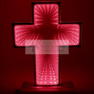 Veioza cruce lumina rosie tip tunel
