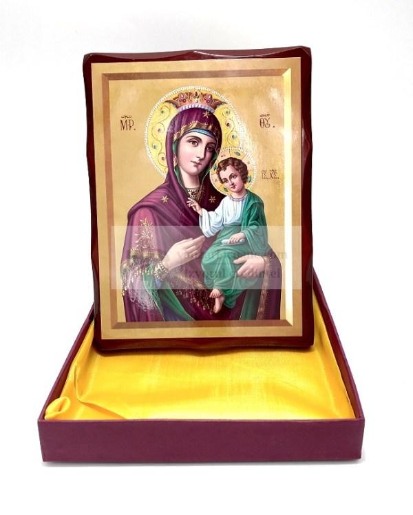 Icoana Maica Domnului cu Pruncul milostiva