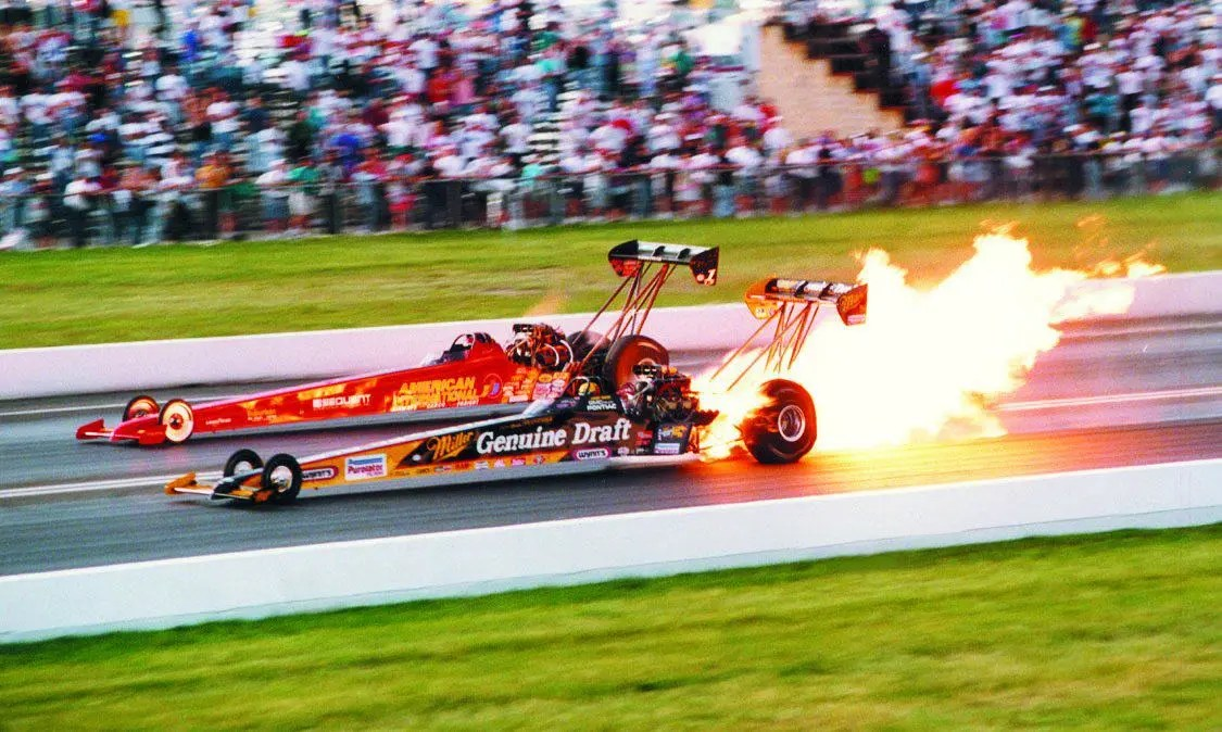 1996 NHRA National Dragster Photo Of The Year