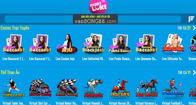 HAPPY LUKE - Casino trực tuyến tốt nhất Việt Nam