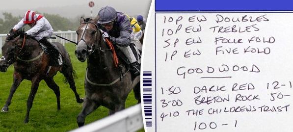 Tỷ lệ cược trong cá cược đua ngựa