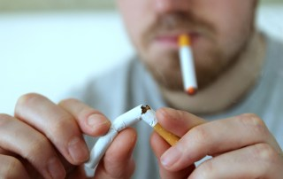 Making the switch: cigarettes to ecigarettes