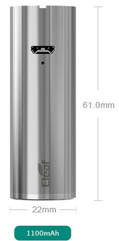 Eleaf Ijust Mini 2 2ml battery diameter