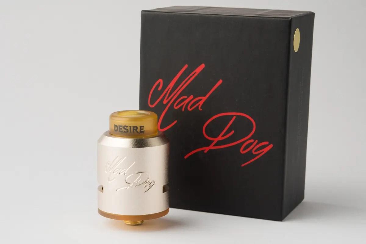 【アトマイザー】Mad Dog RDA「マッドドッグ」 (Desire/デザイア) レビュー