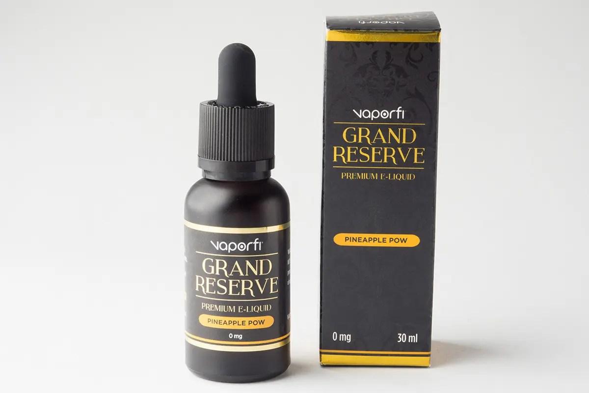 【リキッド】-Grand Reserve- Pineapple Pow「パイナップルパウ」 (VaporFi/ベイパーファイ) レビュー