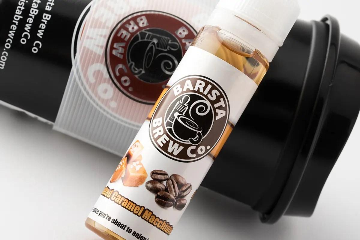 【リキッド】Salted Caramel Macchiato「ソルテッドキャラメルマキアッテ」 / Barista Brew Co バリスタブリュ レビュー