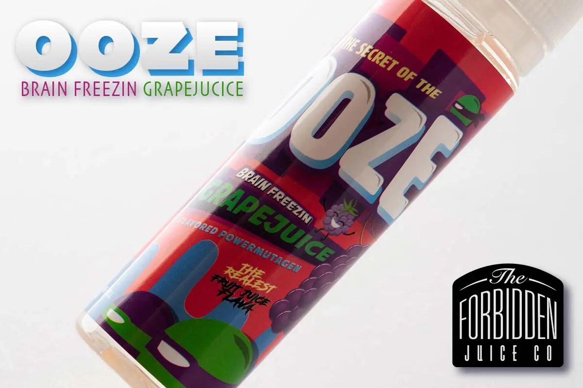 OOZE -BRAIN FREEZIN GRAPEJUCICE- by Forbidden Juice レビュー!