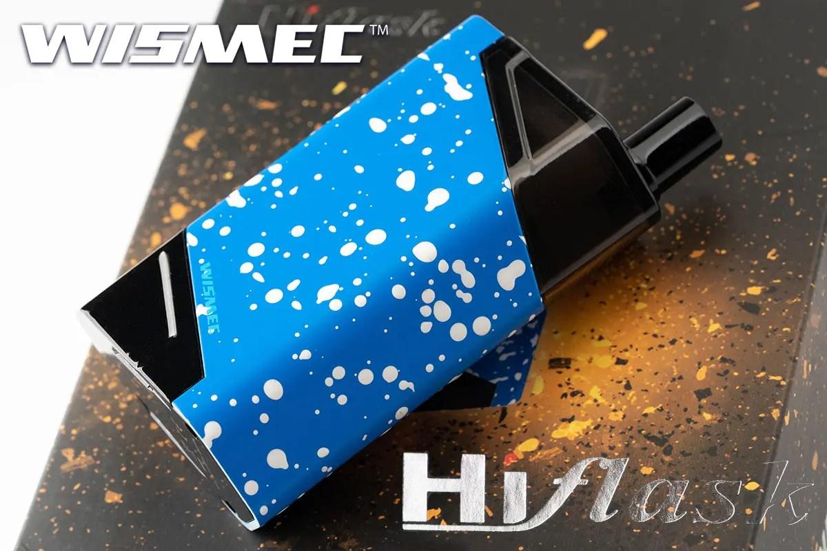 WISMEC HiFlask「ハイフラッシュ」 スターターキットレビュー