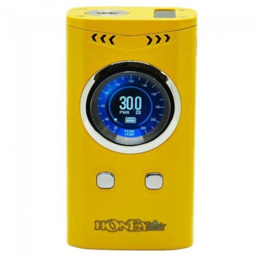 Honeystick Speed 220W Variable Voltage Battery Kit Yellow
