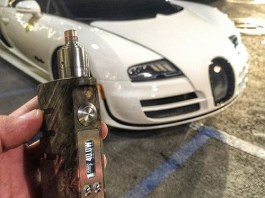 Bugatti Collaborate with SXmini to Produce Vape