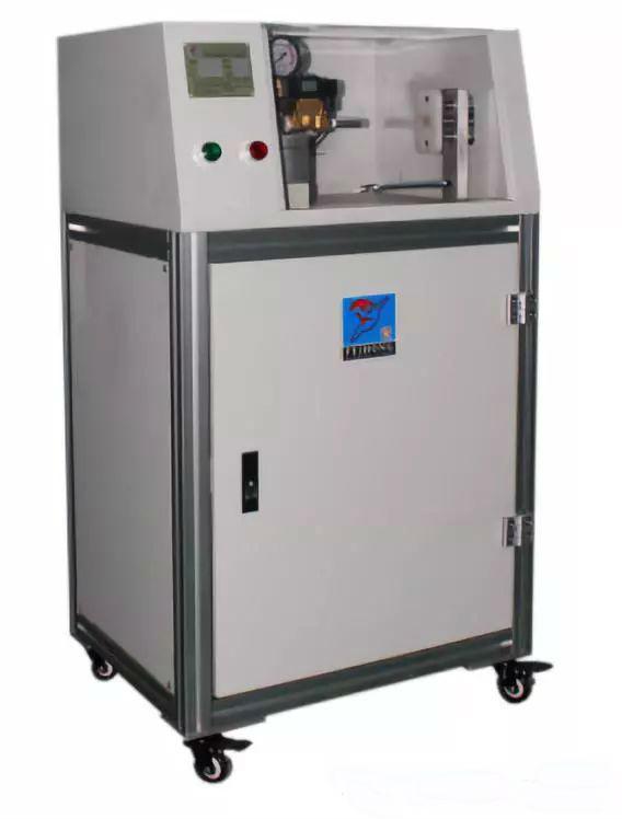 Electronic flue gas tightness tester