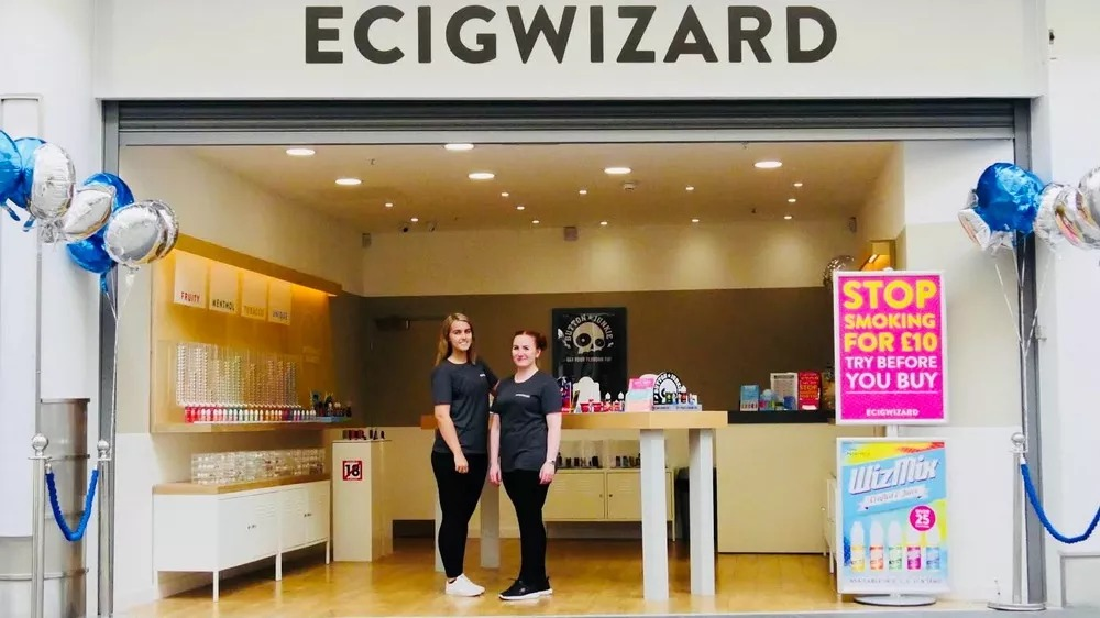 These stores will be operated by Ecigwizard, a British supplier of e-liquid and vaping device.