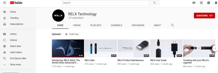 relx youtube