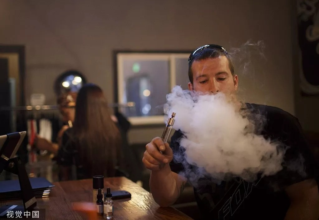 It has been 8 years before electronic cigarette suddenly went popular in China recently