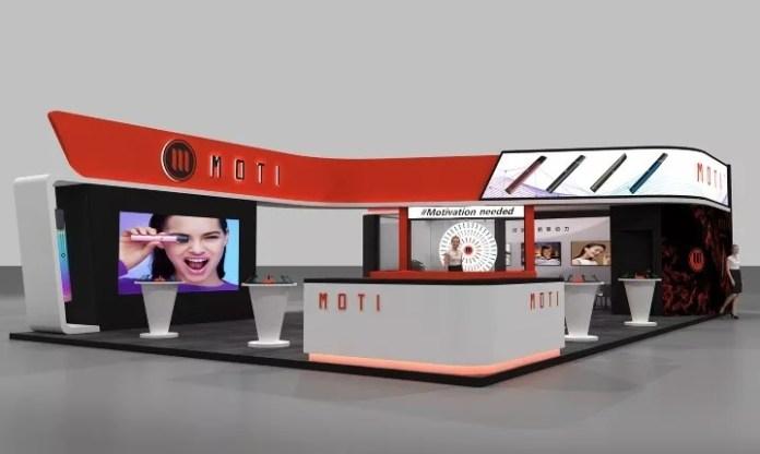 Moti booth IECIE Shanghai