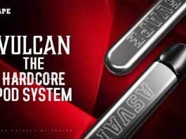 ASVAPE launches the pod system VULCAN on 10th October