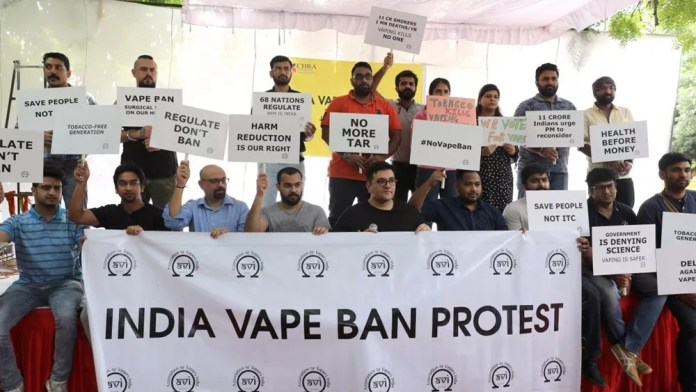 India government: no intention to revoke electronic cigarette ban