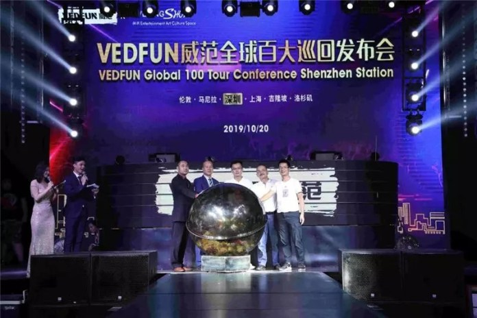 Vedfun market launch ceremony in Greater China