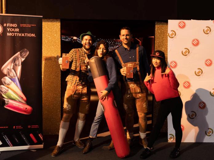 MOTI win smokers heart in London Oktoberfest festival