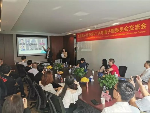 USA Vapor Technology Association and China Electronic Cigarette Industry Committee exchange in Shenzhen