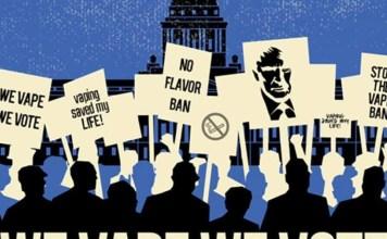 we vape we vote rally