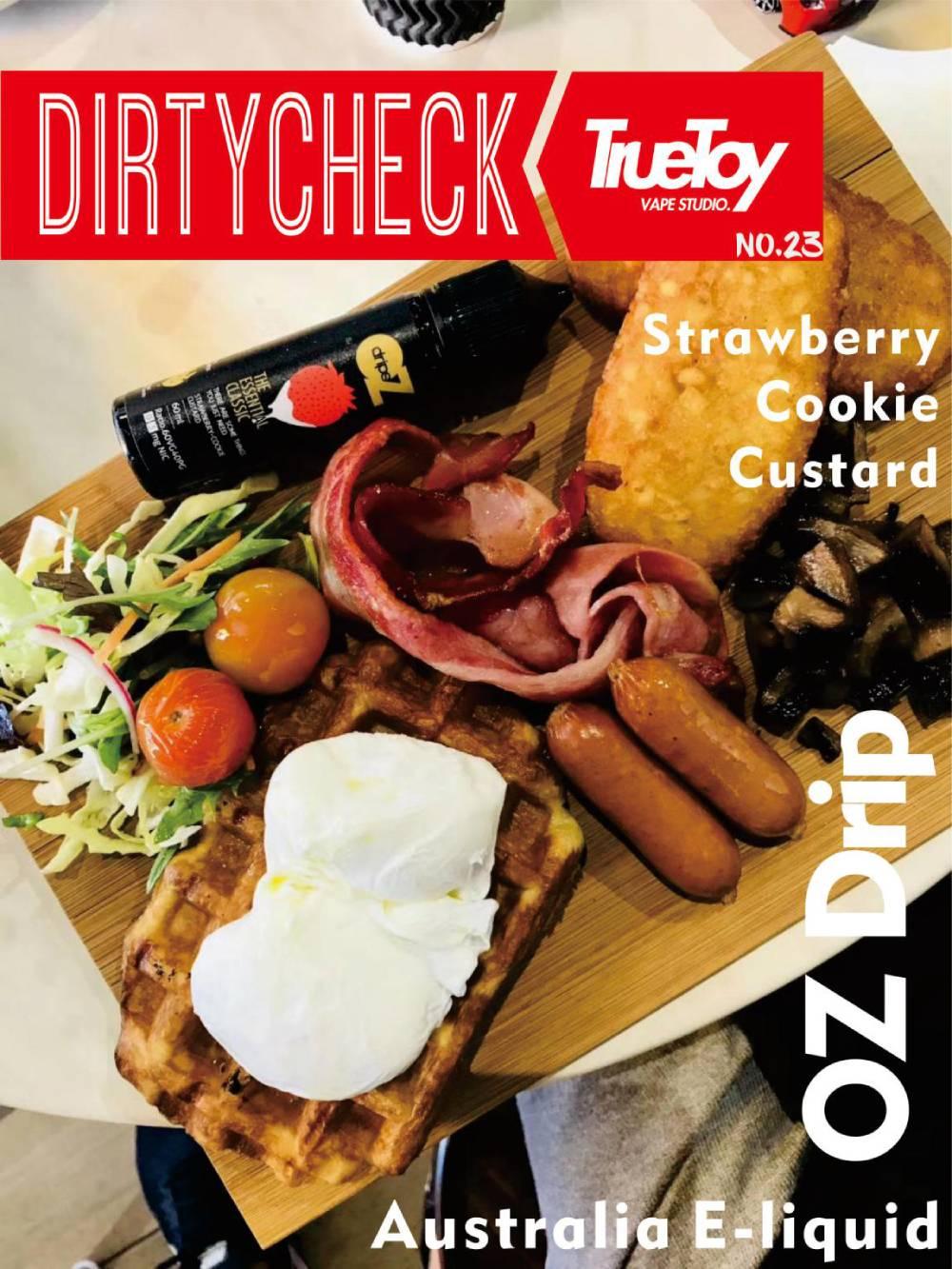 DirtyCheck No.23 OZ Drip Strawberry Milk Cookies