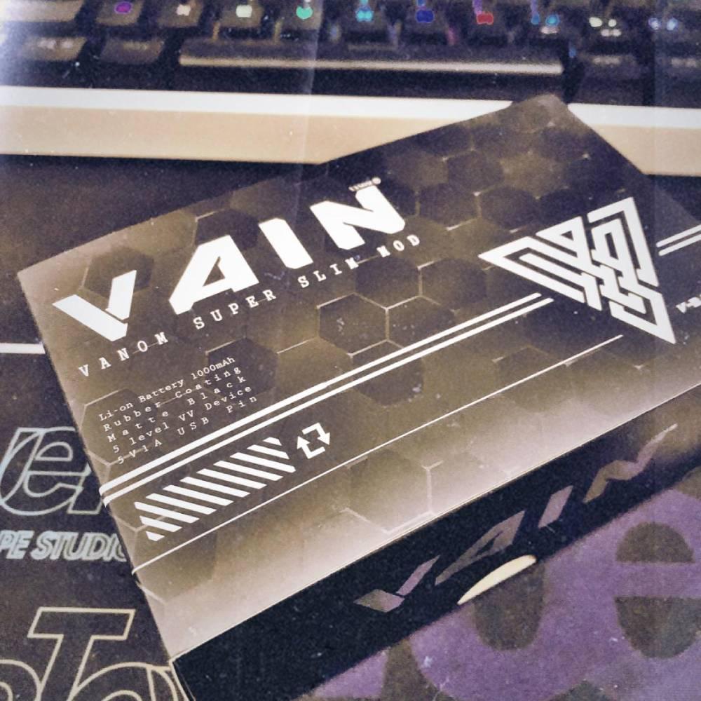 Vanom Vain box mod review
