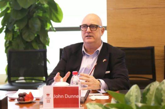 Mr. John Dunne, chairman of UK Vaping Industry Association