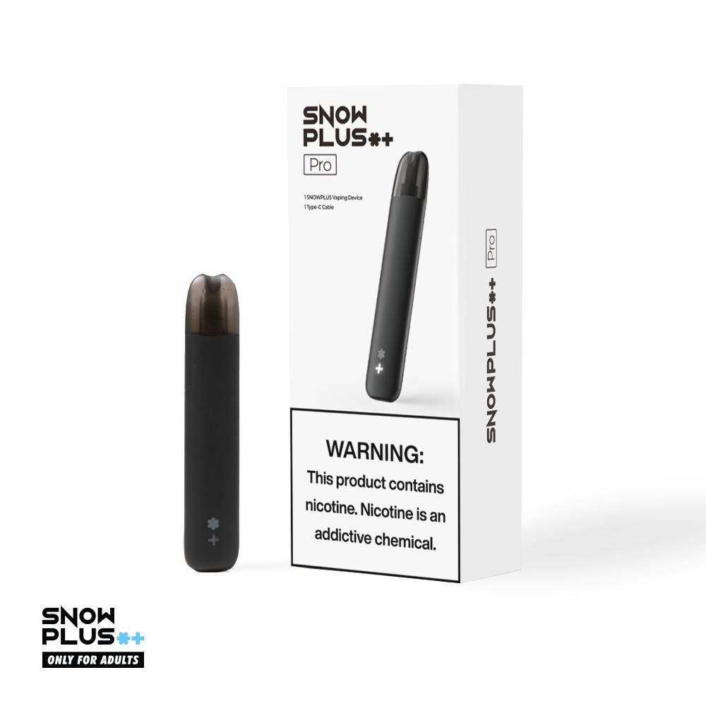 SNOWPLUS launches Pro and Lite vape devices