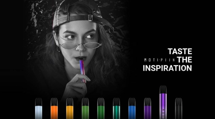 Taste the Inspiration: MOTI Launches Disposable Product MOTI PIIN to Colorize Users Experience